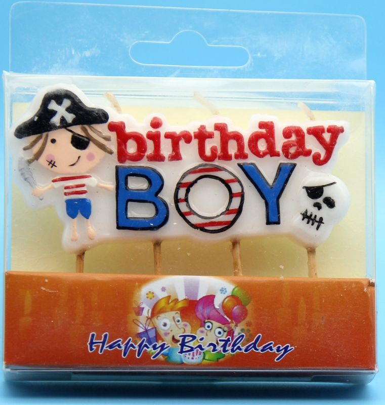 Customized Cute Shaped Birthday Candles For Boys Kids Non Toxic Odorless