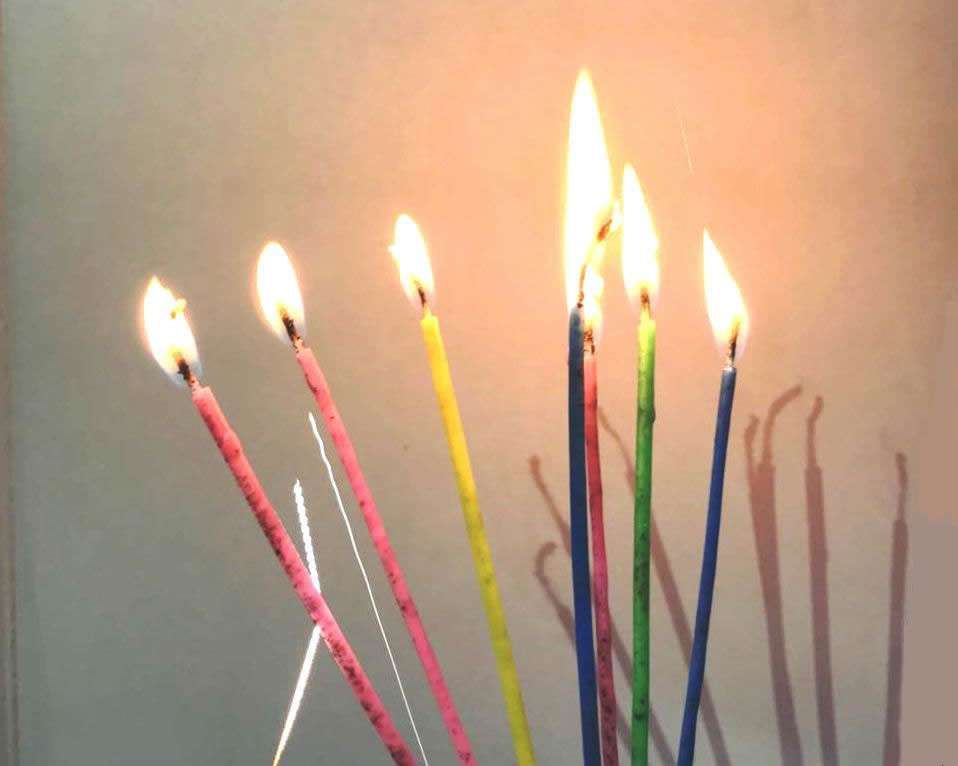 Special Magic Relighting Birthday Candles / Tall Skinny Birthday Cake Candles for Decoration